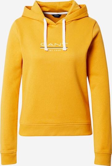 GANT Mikina 'MD. THE FALL' - žlutá / bílá, Produkt