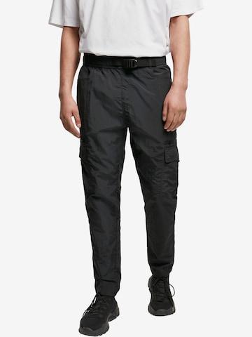 Urban Classics Cargo Pants 'Adjustable' in Black