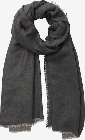 Betty Barclay Basic-Schal unifarben in taupe / schwarz, Produktansicht