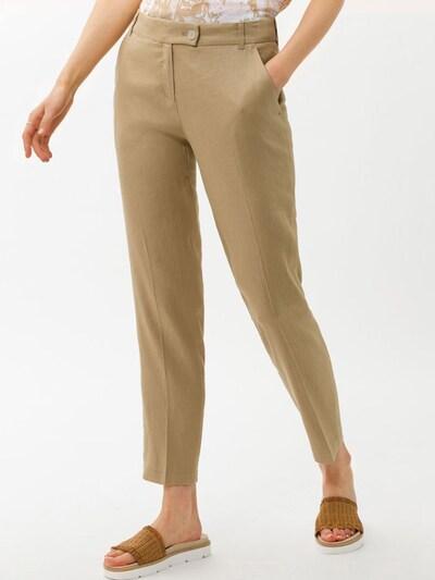 BRAX Kalhoty s puky 'Maron' - písková, Model/ka