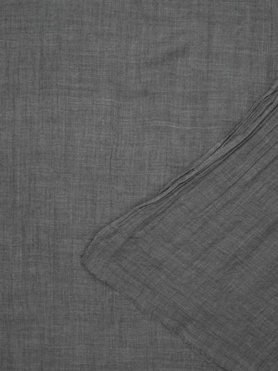 APART Wollschal einfarbig in dunkelgrau, Produktansicht