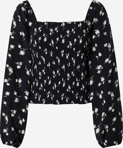 American Eagle Bluse in mint / schwarz / weiß, Produktansicht