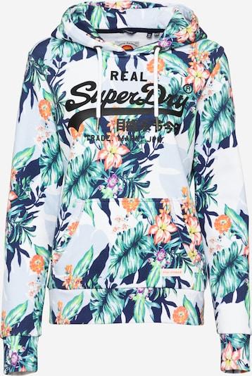 Superdry Sweatshirt in marine / mischfarben, Produktansicht