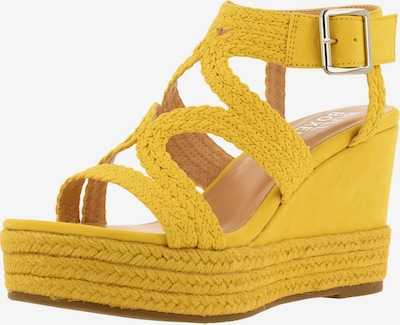 BULLBOXER Sandale ' 175030F2T ' in gelb, Produktansicht