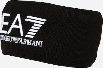 EA7 Emporio Armani Лента за чело в черно