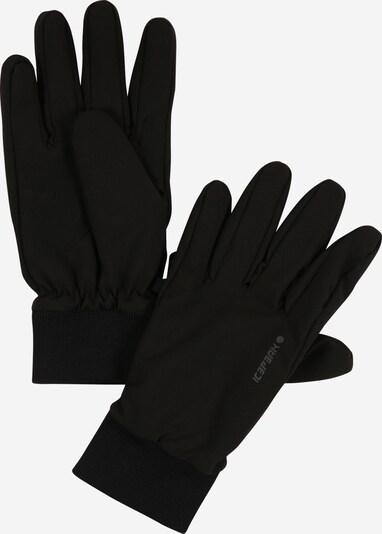 ICEPEAK Sporthandschuhe in schwarz, Produktansicht
