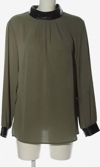 Judith Williams Langarm-Bluse in XXL in khaki / schwarz, Produktansicht