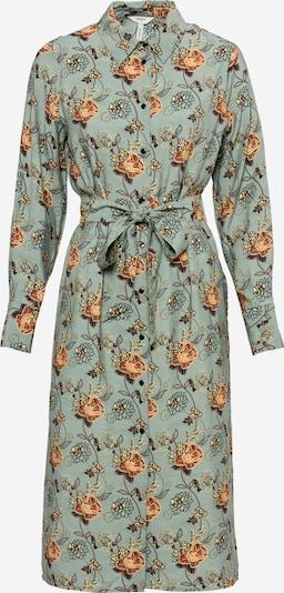 Rochie tip bluză OBJECT pe bej / albastru / portocaliu, Vizualizare produs