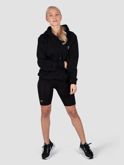 MOROTAI Kapuzenpullover 'Active Dry Hoodie' in schwarz: Frontalansicht