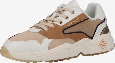 Sneaker low GANT pe bej / maro / alb, Vizualizare produs