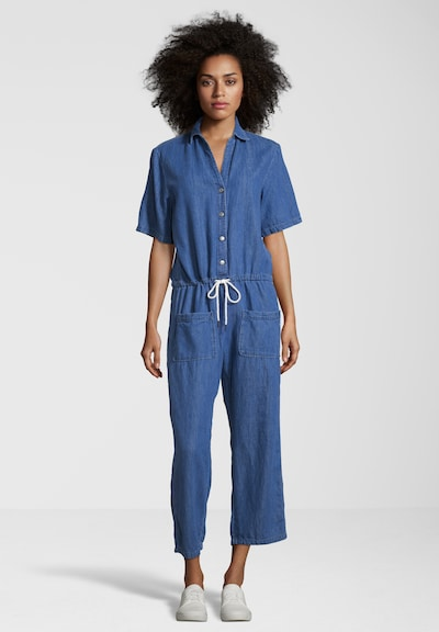 REPLAY Jumpsuit im Denim Look in blau / blue denim, Produktansicht