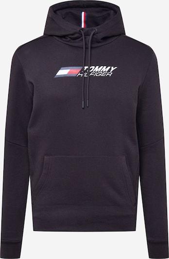 Tommy Sport Sportiska tipa džemperis kamuflāžas / sarkans / melns / balts, Preces skats