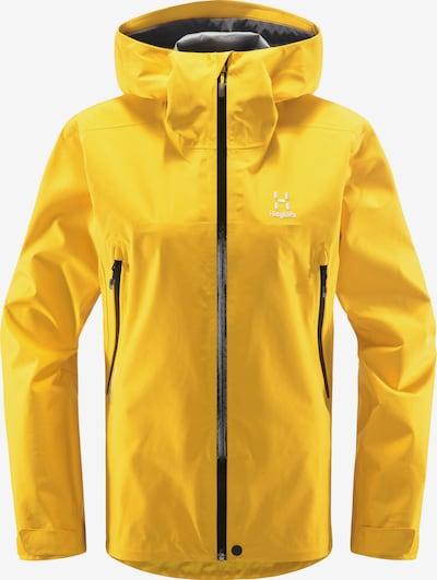 Haglöfs Veste outdoor 'Roc GTX' en jaune / noir, Vue avec produit