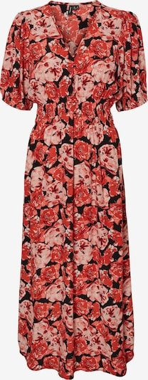 VERO MODA Kleid 'Paja' in rosa / cranberry / schwarz, Produktansicht