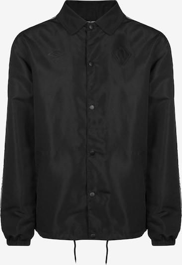 UMBRO Jacke in schwarz, Produktansicht
