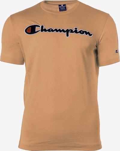 Champion Authentic Athletic Apparel Shirt in de kleur Lichtbruin / Zwart / Wit, Productweergave