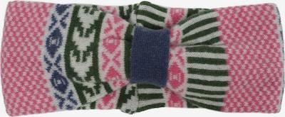 Zwillingsherz Pandebånd i lys pink / sort / hvid, Produktvisning