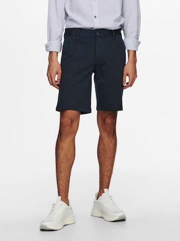 Only & Sons Chino-püksid, värv sinine