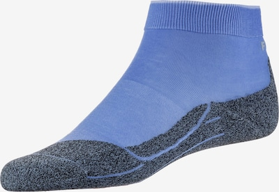 FALKE Sportsocken 'RU 4 Light' in dunkelgrau / flieder, Produktansicht