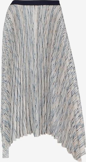 Someday Rok in de kleur Beige / Blauw / Grijs / Wit, Productweergave