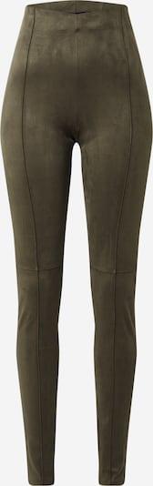FRENCH CONNECTION Leggings 'MAVITA' in khaki: Frontal view