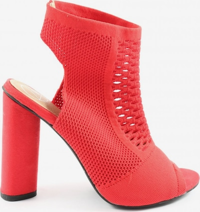 Missguided Peeptoe Pumps in 39 in rot, Produktansicht
