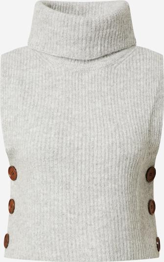 Cream Pullover 'Star' in graumeliert, Produktansicht