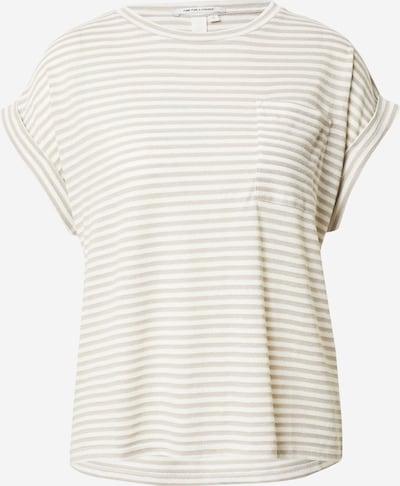 Q/S by s.Oliver Shirt in kitt / weiß, Produktansicht