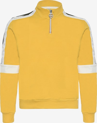 BLUE EFFECT Sweatshirt in yellow / white, Item view