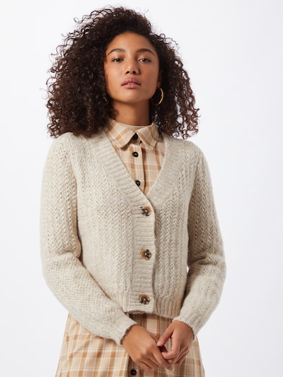 ONLY Cardigan 'Christie' in beige, Modelansicht