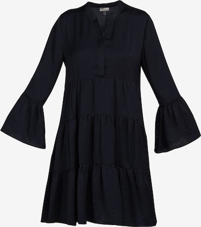 Rochie tip bluză DreiMaster Vintage pe negru, Vizualizare produs