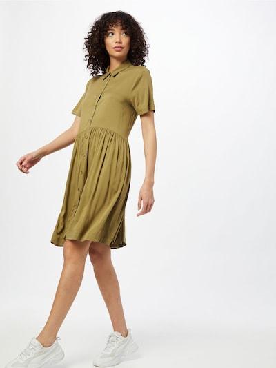 Rochie tip bluză 'Valencial' Soft Rebels pe oliv, Vizualizare model