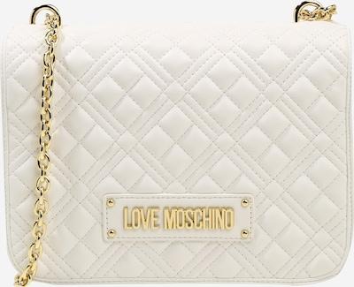 Love Moschino Taška přes rameno - zlatá / bílá, Produkt