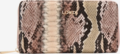 L.CREDI Brieftasche 'Giselle' in beige, Produktansicht