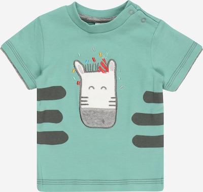 JACKY T-Shirt 'LEOPARDY' in jade / mischfarben, Produktansicht