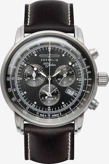 Zeppelin Uhr ' 7680-2' in schwarz, Produktansicht