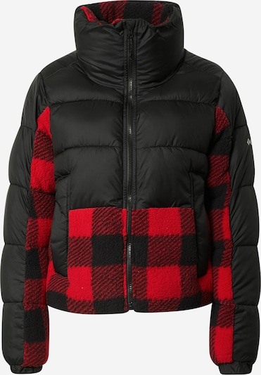 COLUMBIA Outdoorová bunda 'Leadbetter Point' - červená / čierna, Produkt
