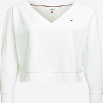 Tommy Jeans Curve Sweatshirt in Weiß