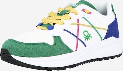 Benetton Footwear Sneaker in dunkelblau / dunkelgrün / pitaya / weiß, Produktansicht