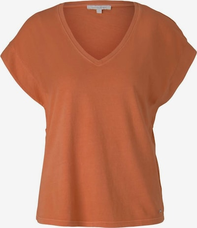 Tricou TOM TAILOR DENIM pe roșu ruginiu, Vizualizare produs