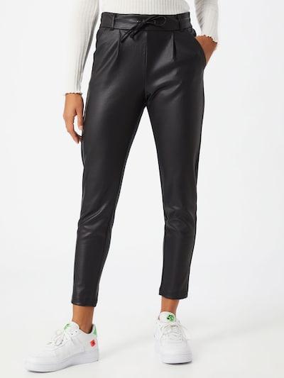 Pantaloni con pieghe 'POPTRASH' ONLY di colore nero, Visualizzazione modelli