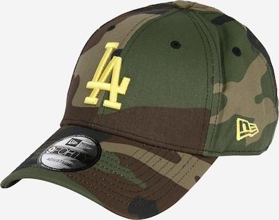 Cappello da baseball NEW ERA di colore marrone / giallo / cachi, Visualizzazione prodotti