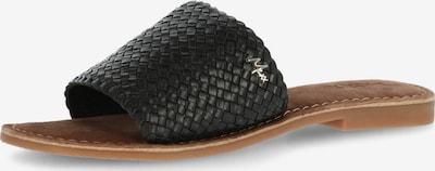 MEXX Pantolette 'GIBRALTA' i svart, Produktvy