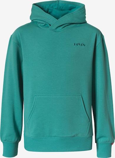 LEVI'S Sweatshirt i grön: Sedd framifrån