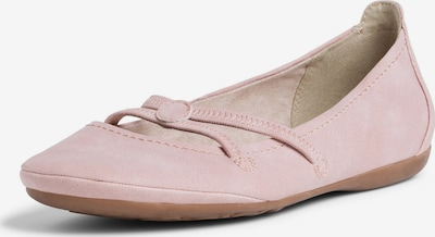 TAMARIS Strap ballerina in Rose, Item view