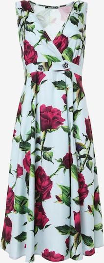 Madam-T Kleid 'GENERVA' in grün / rot / weiß, Produktansicht