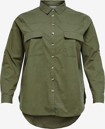 Camicia da donna 'Corinne' ONLY Carmakoma di colore cachi, Visualizzazione prodotti