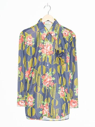 Sky Blumenbluse in L in royalblau, Produktansicht