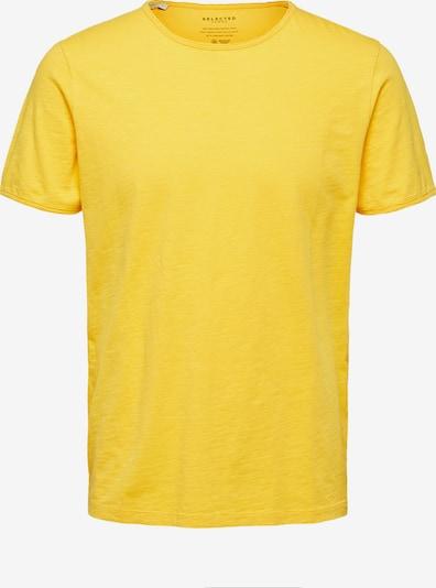 SELECTED HOMME Shirt 'SLHMORGAN' in de kleur Pasteelgeel, Productweergave