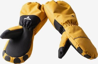 WeeDo Fausthandschuhe 'Liodo Löwe' in gelb / schwarz, Produktansicht